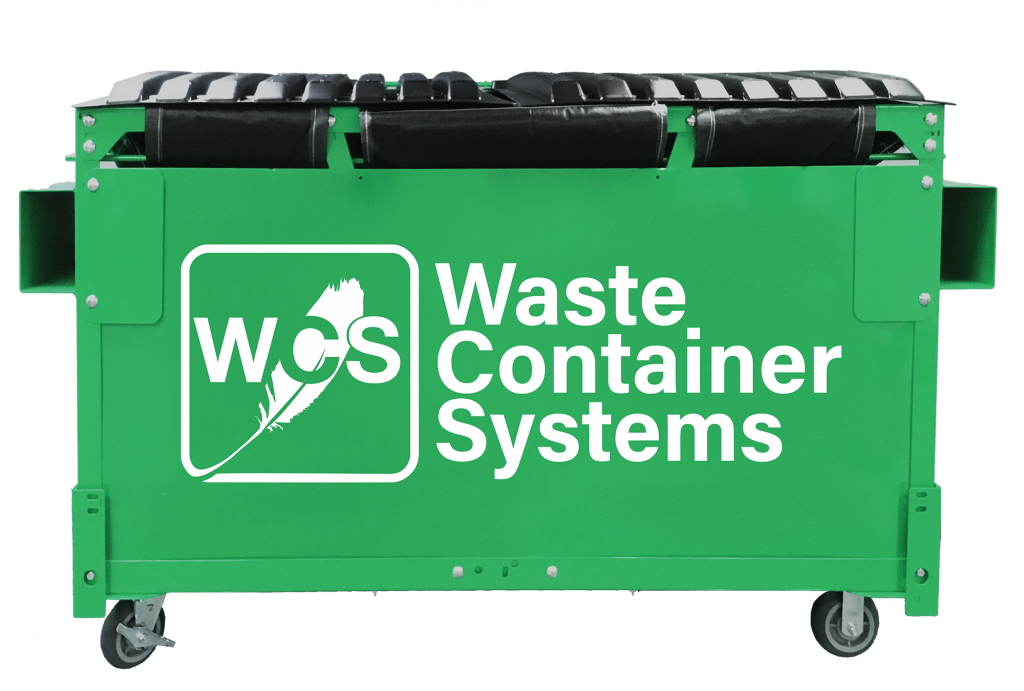 Never replace a dumpster again with WCS's modular dumpster