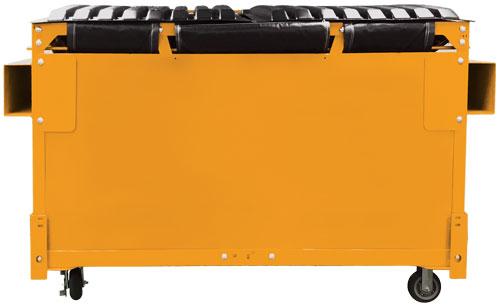 WCS Modular Dumpster - Mustard Yellow